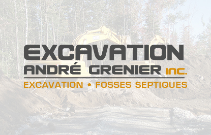 EXCAVATION ANDRÉ GRENIER