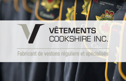 VÊTEMENTS COOKSHIRE